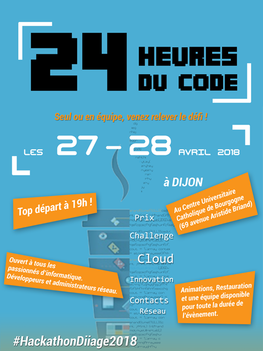 affiche 24h du code